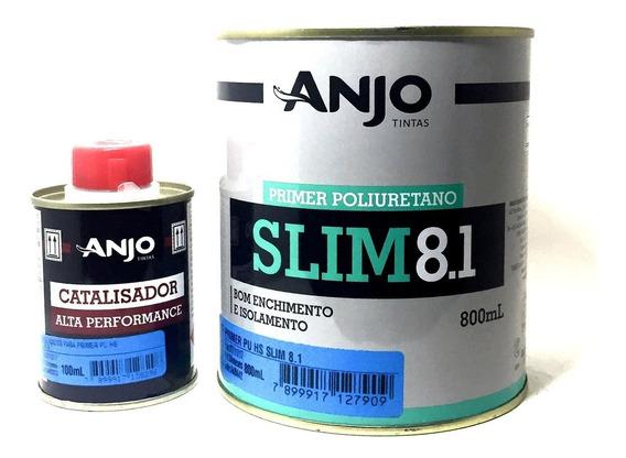 Primer Pu Automotivo Anjo Slim 8.1 Isolamento 800ml