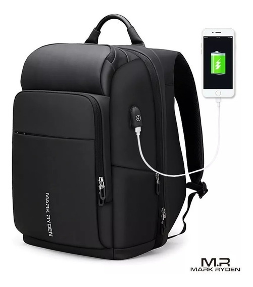 Mochila Premium Contra Agua Mark Ryden Usb Laptop Viaje iPad