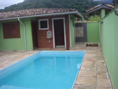 Linda Casa Com Piscina Na Praia Massaguaçu - Codigo: Ca1041 - Ca1041