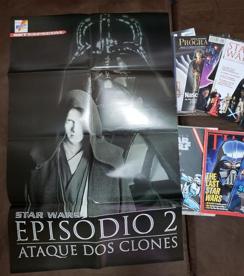 Lote Revistas Star Wars Set Sci Fi News Veja Mundo Estranho