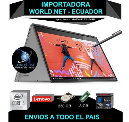 Laptop Lenovo Core I.5 -250 Gb Solido - 8gb Ram- Flex -touch
