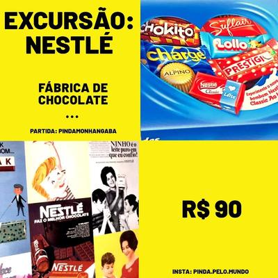 Excursão Fábrica De Chocolate Da Nestlé, Pindamonhangaba