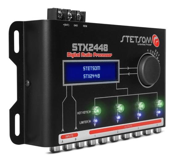 Processador Crossover E Equalizador Stetsom Stx2448-stx 2448