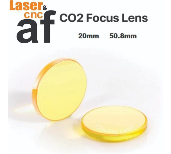 Lente Máquina Laser 20mm 50,8mm