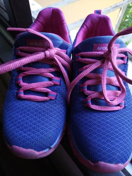Zapatos Deportivos Apolo Con Luces Led Para Niña