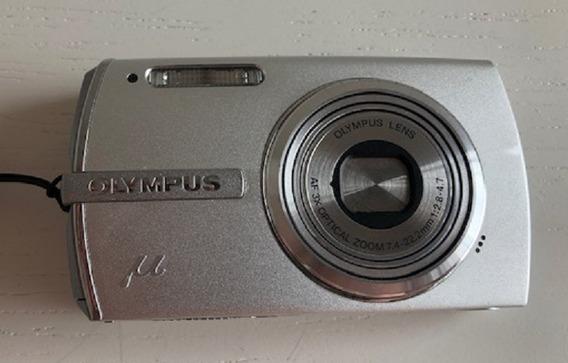 Câmera Olympus Stylus 1200 Hyper Cristal Lcd Funcionando