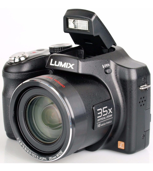 Camera Digital 16,1mp - Panasonic Lumix Lz30, Zoom 35x