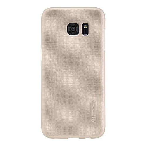 Imagen 1 de 7 de Carcasa Nillkin Frosted Shield Samsung S7 Edge, Dorado