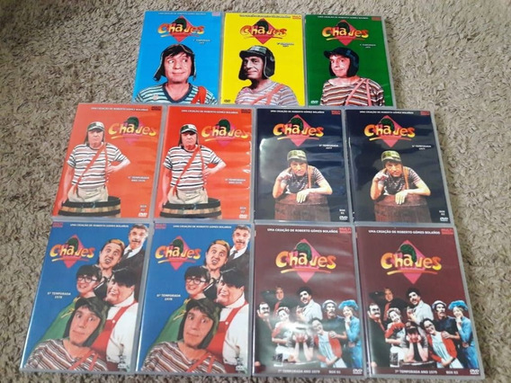 Dvd Seriado Chaves Completo - 280 Episódios Do Multishow