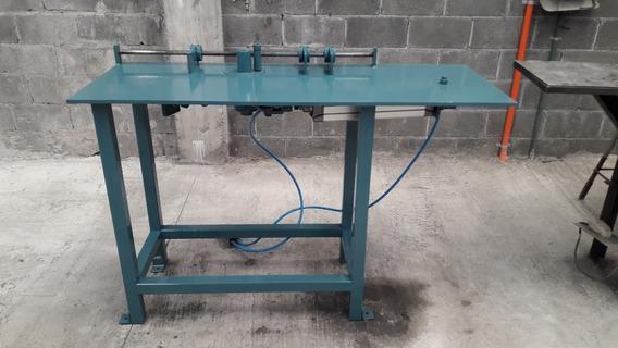 Maquina Anillos Estribos Alambrón P/ Construcción Neumática