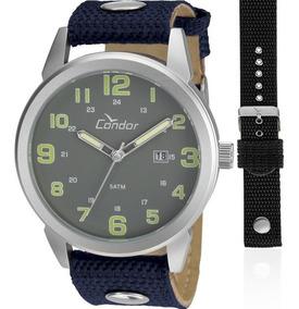Relógio Condor Masculino Troca Pulseiras Nota Co2115umtdy/c
