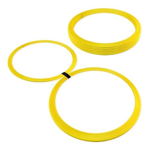 Imagem 1 de 1 de Kit Argolas De Agilidade Funcional Circuito  16 Peças