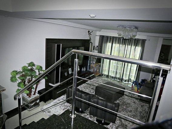 Sobrado Com 3 Dormitórios À Venda, 230 M² Por R$ 650.000 - Parque São Vicente - Mauá/sp - So0049