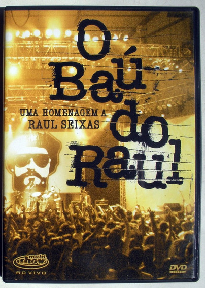 Dvd - O Bau Do Raul - Raul Seixas - Booklet - Imp. Brasil