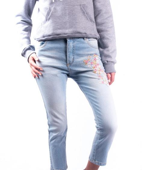 Jeans Aeropostale 5 Bolsillo Girl Embrodery 42 St Mujer Aero