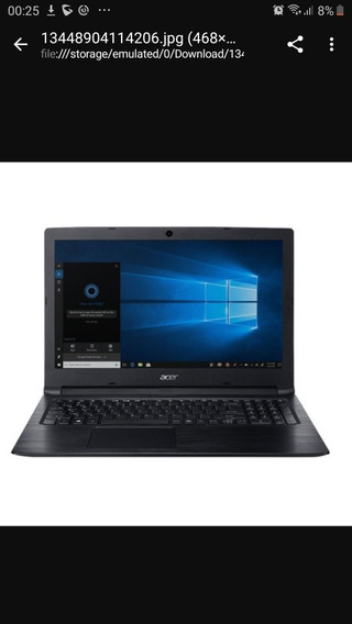 Notebook Acer Core I3 7ger 8gb Ram Hd 1tb