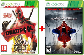 Deadpool + The Amazing Spider Man 2 Xbox 360