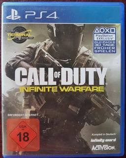 Juego Call Of Duty Infinite Warfare Ps4 Fisico En Español