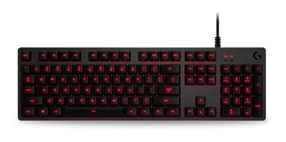 Logitech G413 Backlit Mechanical Gaming Keyboard Con Usb 6ct