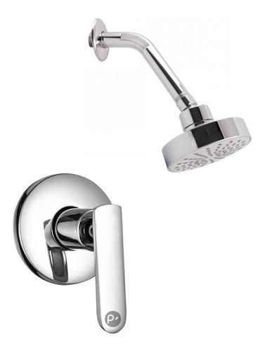 Imagen 1 de 2 de Griferia Ducha Sencilla, Registro Individual Agua Fría Metal