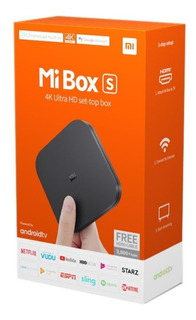 Xiaomi Mi Tv Box S 4k V. Internac. Incluye C. Remoto C/voz !