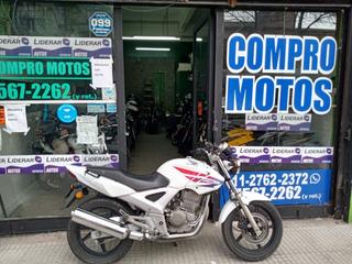 Honda Twister 250 2012 Blanco Alfamotos 1127622372 Permuto