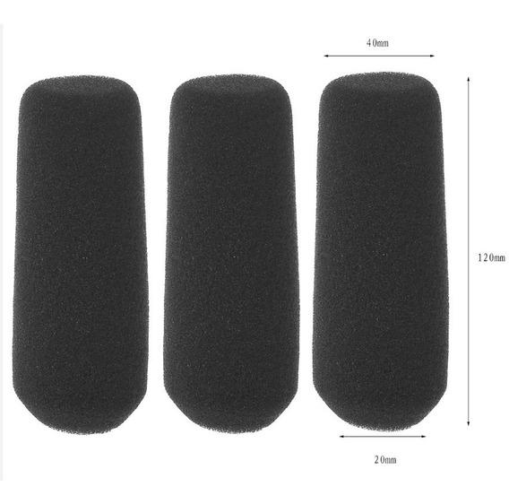 3 Espuma Microfone Sony Pd170 Z1 Z7 Z5 Hd1000 Nx5 Panasonic