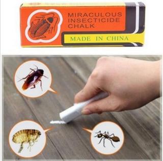 Anti Cucarachas Matar Cebo Carton Insenticida Tiza Milagrosa