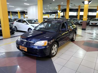 Civic Lx 1.7 2002/02 Manual Gasolina (9229)