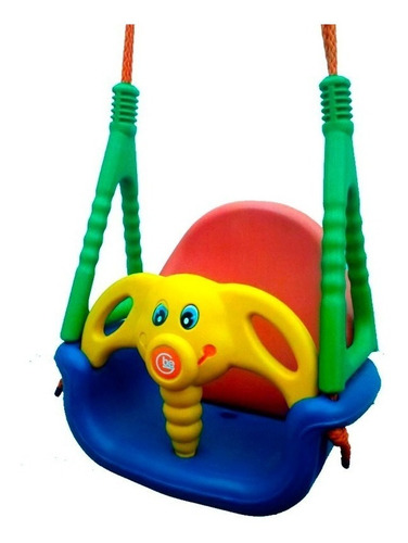 Imagen 1 de 4 de Hamaca De Bebe Elefantito Rodacross Envio Gratis Todo Pais