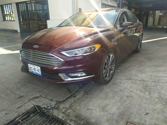 Ford Fusion 2017 4p Titanium Plus L4/2.0/t Aut Somos Agenci