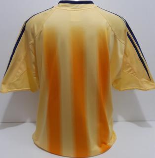Camisa Do Ajax Amarela Da Holanda 2004 E 2005 adidas - Am