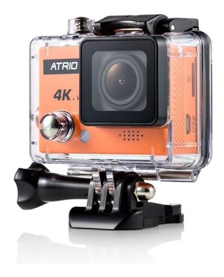 Câmera De Ação Fullsport Cam 4k Atrio Tela 2.0 Wifi - Dc185
