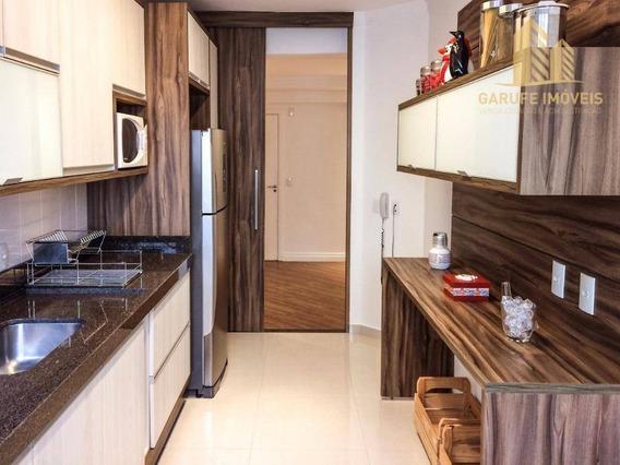 Apartamento Com 3 Dormitórios À Venda, 106 M² Por R$ 580.000,00 - Jardim Esplanada - São José Dos Campos/sp - Ap1131
