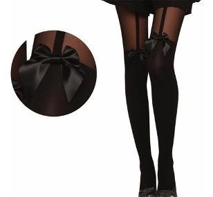 Medias De Gato Largas, Moda Japonesa,sexy Lolita Kawaii Moño