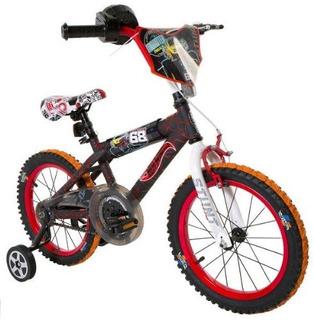 Dynacraft Hot Wheels Boys Bmx Streetdirt Bike Con Freno De M