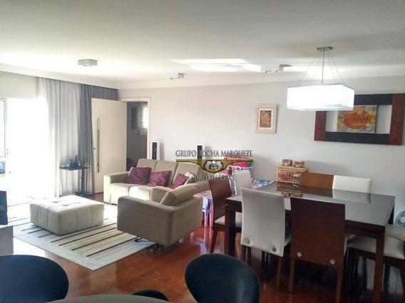Apartamento Com 4 Dormitórios À Venda, 168 M² Por R$ 1.150.000,00 - Belém - São Paulo/sp - Ap1811