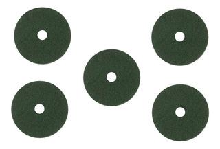 Discos Pad De Fibra Para Pulidora 20 Pulgadas Verde 5 Piezas