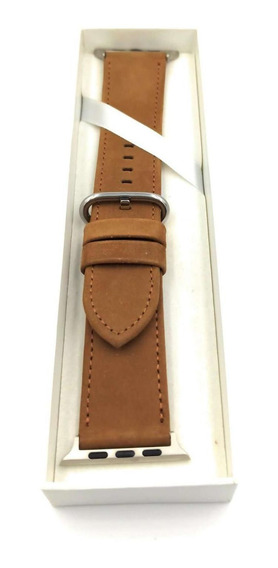 Banda Para Reloj 42mm Watch Band Series 3 2 1 Cafe