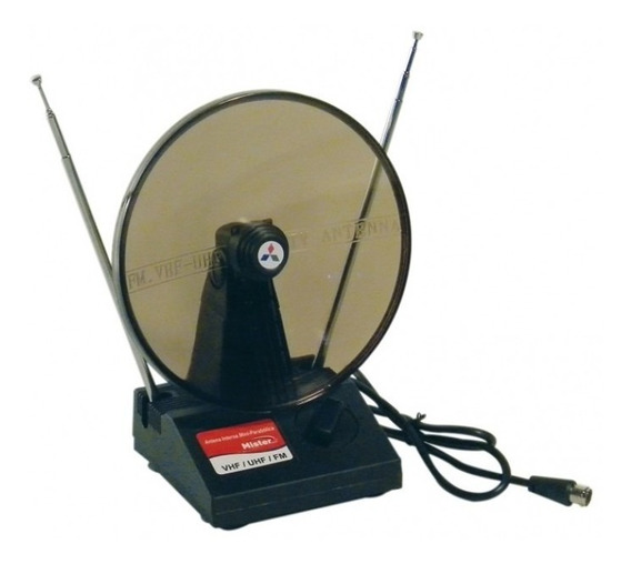 Antena Digital Compativel Interna Uhf Vhf E Fm Frete Gratis