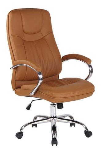 Cadeira Office Lyon Rivatti Marrom Fd