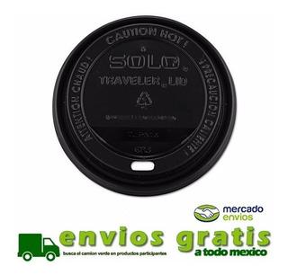 Tapa Negra Para Vaso De Café 12, 16 Y 20 Oz C/1000 Piezas