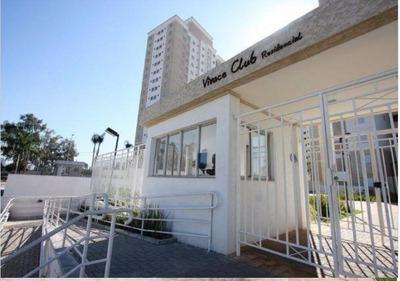 Apto No Vivace Club Com 3 Dorm Sendo 1 Suíte Andar Alto.