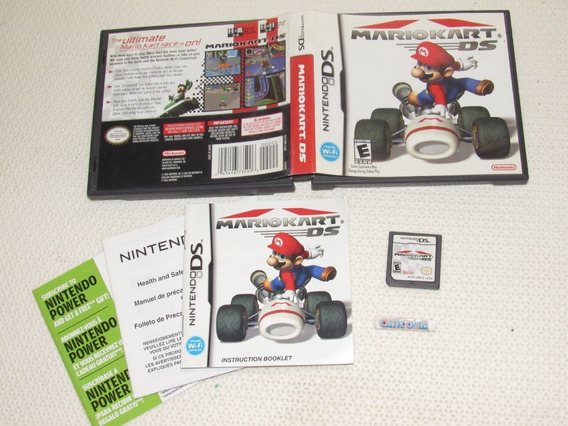 Mario Kart Ds Original Completo Ds E 3ds