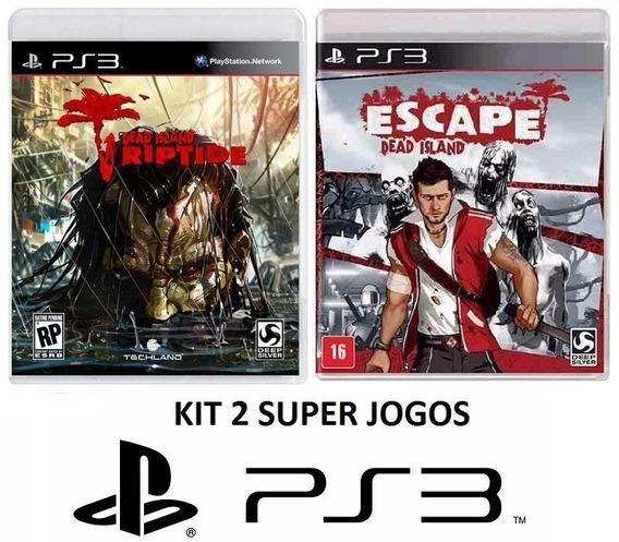 Escape Dead Island + Riptide - Midia Fisica Lacrado - Ps3