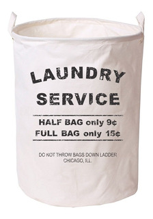 Cesto Canasto Laundry Con Manijas Para Ropa Sucia, Juguetes