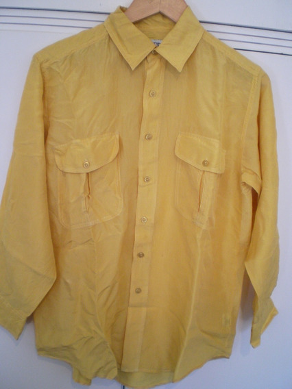 Camisa Seda Lavada Importada Mujer