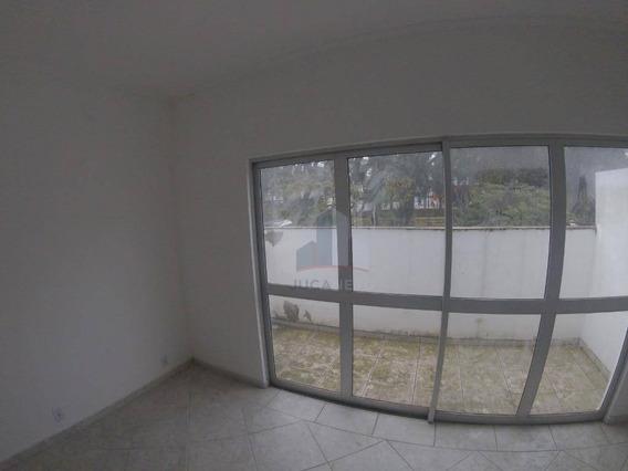Casa Com 2 Dormitórios Para Alugar, 100 M² Por R$ 1.100,00/mês - Centro - Mauá/sp - Ca0143