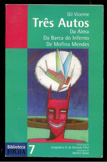 Gil Vicente Três Autos E Gonçalves Dias Poemas 2 Vol L.2312