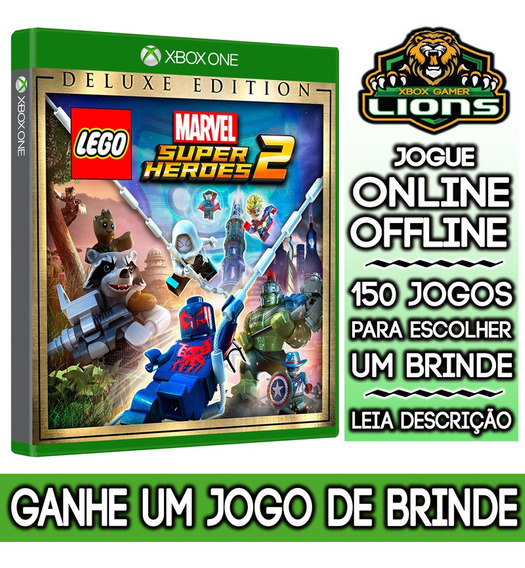 Lego Marvel Super Heroes 2 Deluxe Edition Xbox One + Brinde